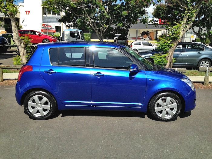 2009 Suzuki Swift Rs415 Anniversary Manual Blue