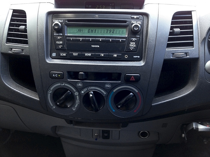 Prodigy Brake Controller >> 2009 Toyota Hilux Workmate Dual Cab Manual Charcoal