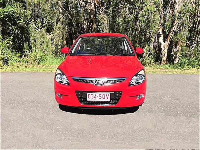 2011 Hyundai I30 Trophy Auto My11 Hatch Red