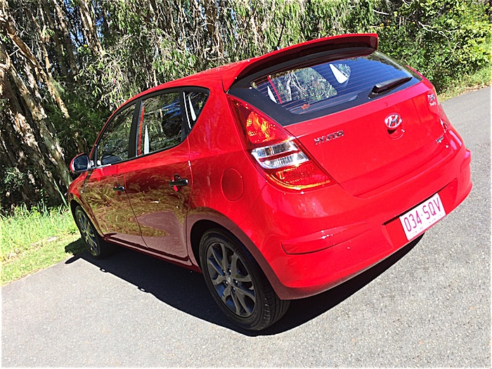 2011 hyundai i30 trophy auto my11 hatch red. Black Bedroom Furniture Sets. Home Design Ideas