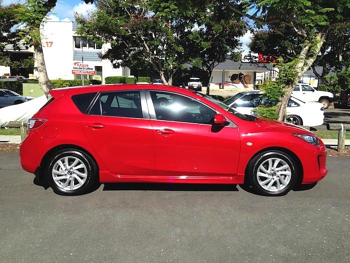 2013 Mazda 3 Hatch Maxx Auto Red