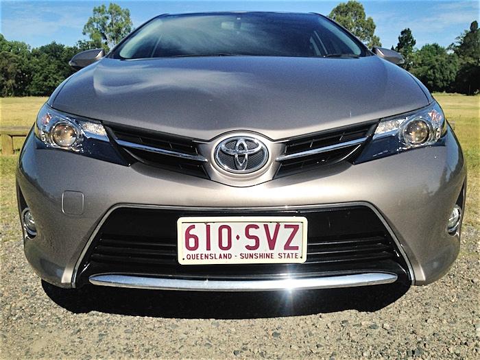 2013 Toyota Corolla Ascent Sport Hatch Auto Bronze