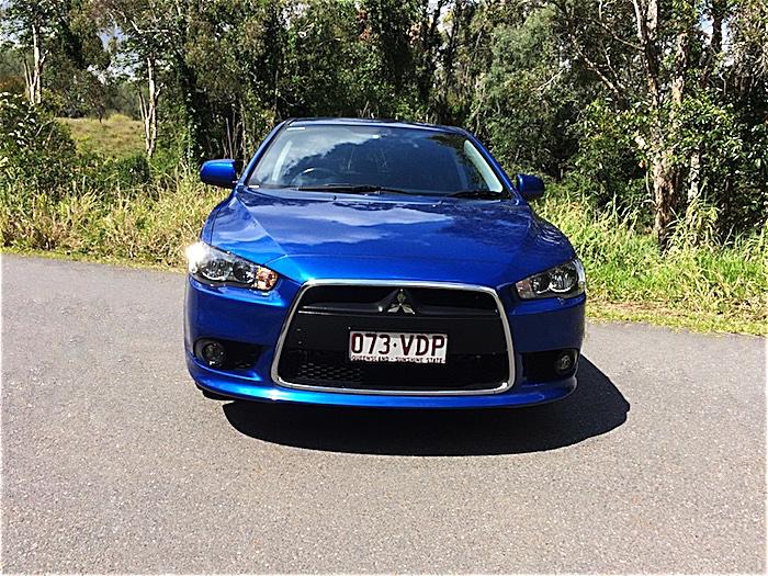 2014 mitsubishi lancer sportback hatch auto blue brisbane car shed pty ltd - Mitsubishi Lancer 2014 Blue